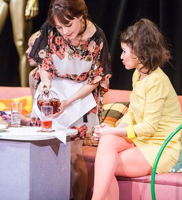 «Российская красавица» посмотрела премьеру рязанского спектакля