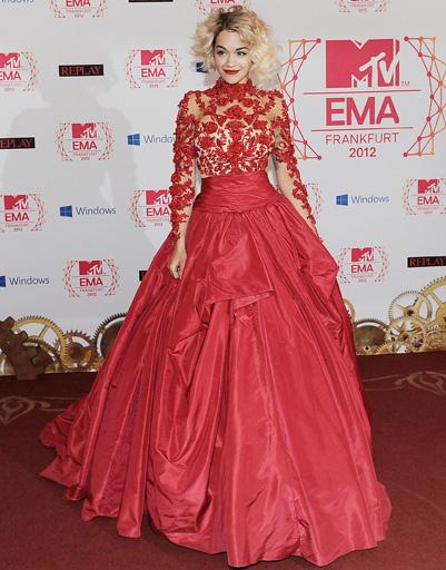Рита Ора (Rita Ora) на MTV EMA 2012