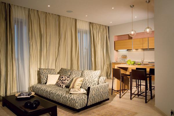 Классический интерьер квартиры