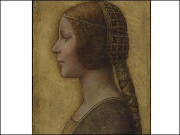 La Bella Principessa Леонардо да Винчи