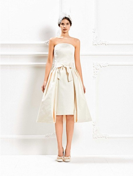 12 коротких платьев для невесты | галерея [1] фото [1]