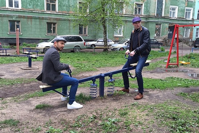 Проводник Бедняков у Николая Наумова