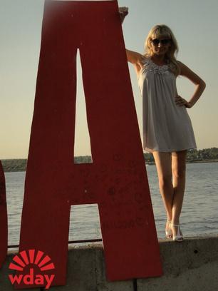 Анастасия Плоскова выбирает букву «А»