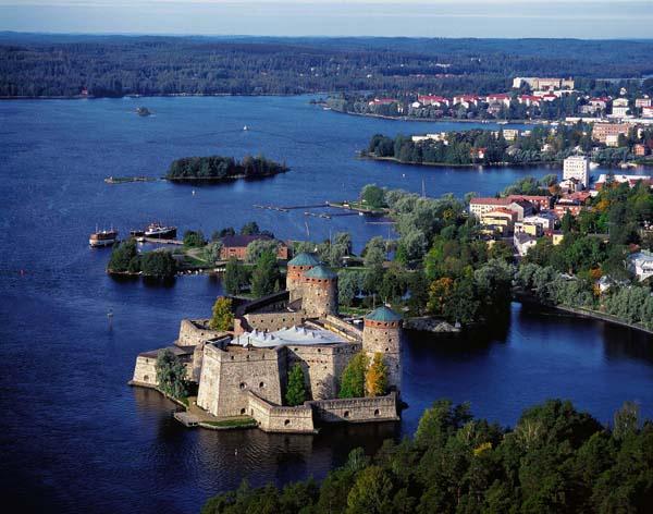 Савонлинна - жемчужина озерной Финляндии.