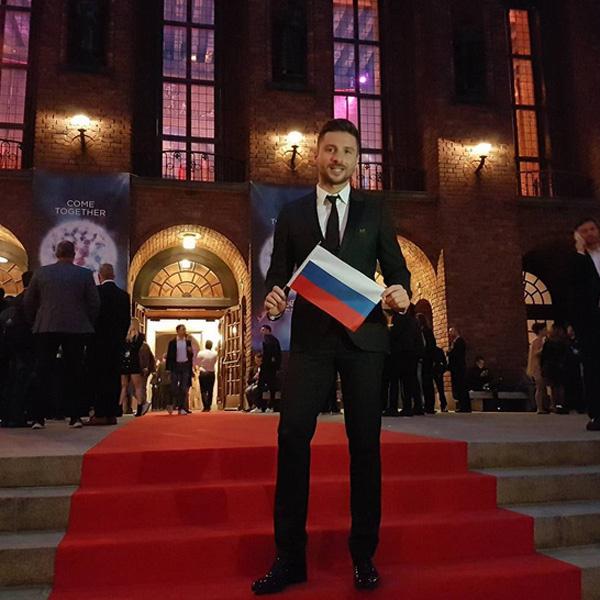 Лазарев записал видеобращение поклонникам