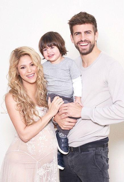Шакира и Жерар Пике, сын Шакиры: фото