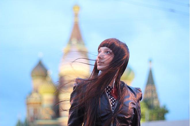 Мария Крупп, шеф-редактор студенческого ТВ, фото