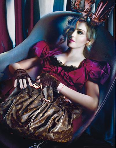 Мадонна в рекалмной кампании Louis Vuitton, 2009 год