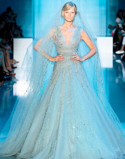 Свадебное платье Elie Saab Haute Couture, коллекция весна-лето 2012