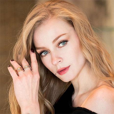 Светлана Ходченкова, макияж для Bulgari, фото