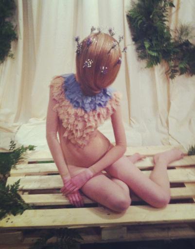 VII Cycles & Seasons by MasterCard: Инсталляция победительницы конкурса Preview Олеси Парамоновой