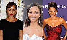 10 темнокожих красавиц Голливуда