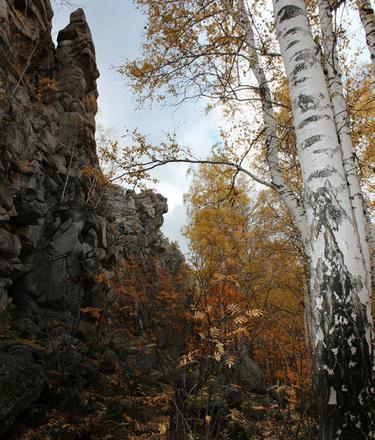 Шихан, осень на Урале
