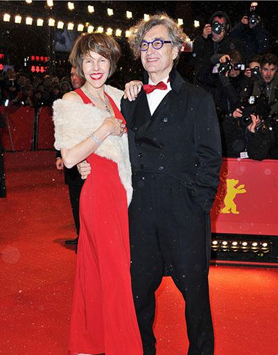 Вим Вендерс на открытии Берлинского кинофестиваля-2013