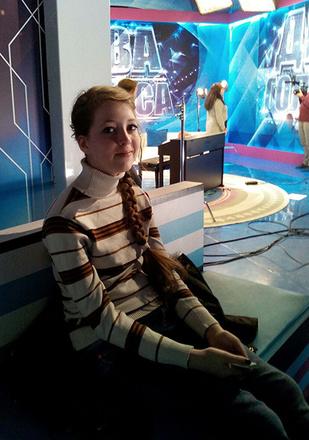 "Каролина Щербинина, Шоу ""Два голоса"""