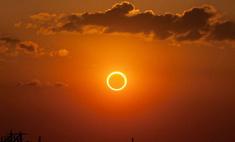 20 марта ростовчане увидели солнечное затмение!