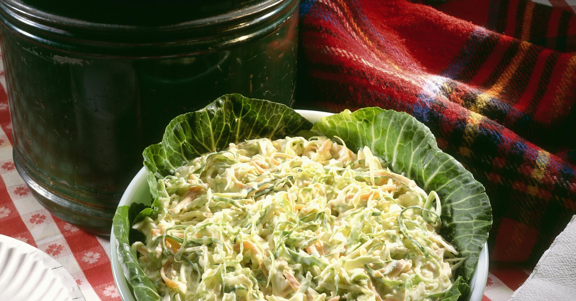 Рецепт приготовления салата из капусты с уксусом