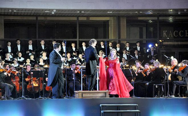 Праздничный концерт в Ростове, куда пойти в Ростове, афиша Ростова, Концерт симфонического оркестра, банк Центр инвест
