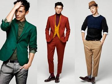Мужская коллекция H&M сезона осень-зима-2012/2013.