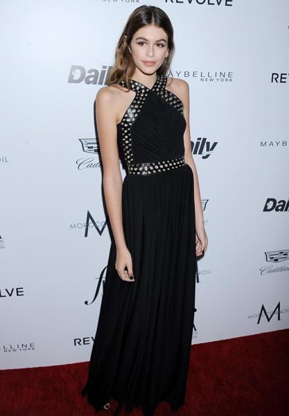 Кайя Гербер на модной премии в Лос-Анджелесе