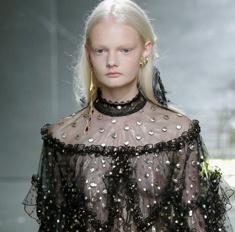 8 лучших «голых» платьев на Неделе моды в Нью-Йорке
