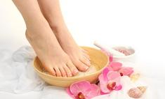 Релакс для ног с помощью ванночек