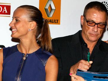 Жан-Клод Ван Дамм (Jean-Claude Van Damme) и Алена Каверина