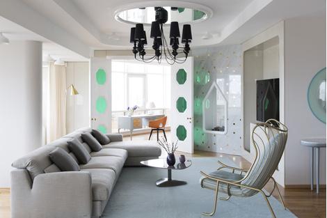 Лучшие интерьеры квартир 2014: вспомнить всё! | галерея [8] фото [1]