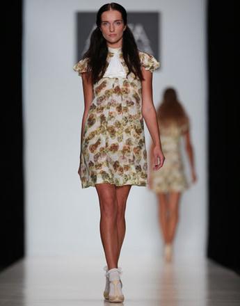 Mercedes-Benz Fashion Week: коллекция Anna Arbelina весна-лето 2013