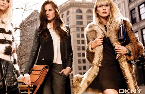 Кадр из рекламной кампании DKNY, осень-зима 2011/12