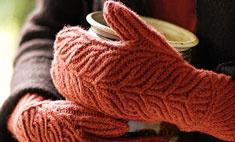Красивые варежки и перчатки: 8 теплых пар