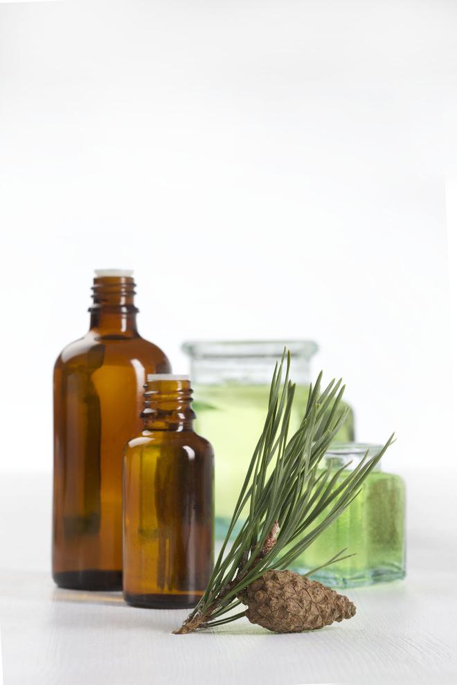 Использовать эфирное масло сосны