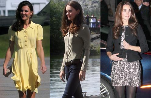 Чаще всего Кейт Миддлтон (Kate Middleton) выбирает одежду в стиле кэжуал