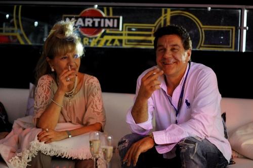 Сергей Маковецкий с супругой
