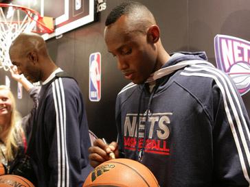 Звезды New Jersey Nets в Москве