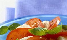 Капрезе и другие рецепты с томатами