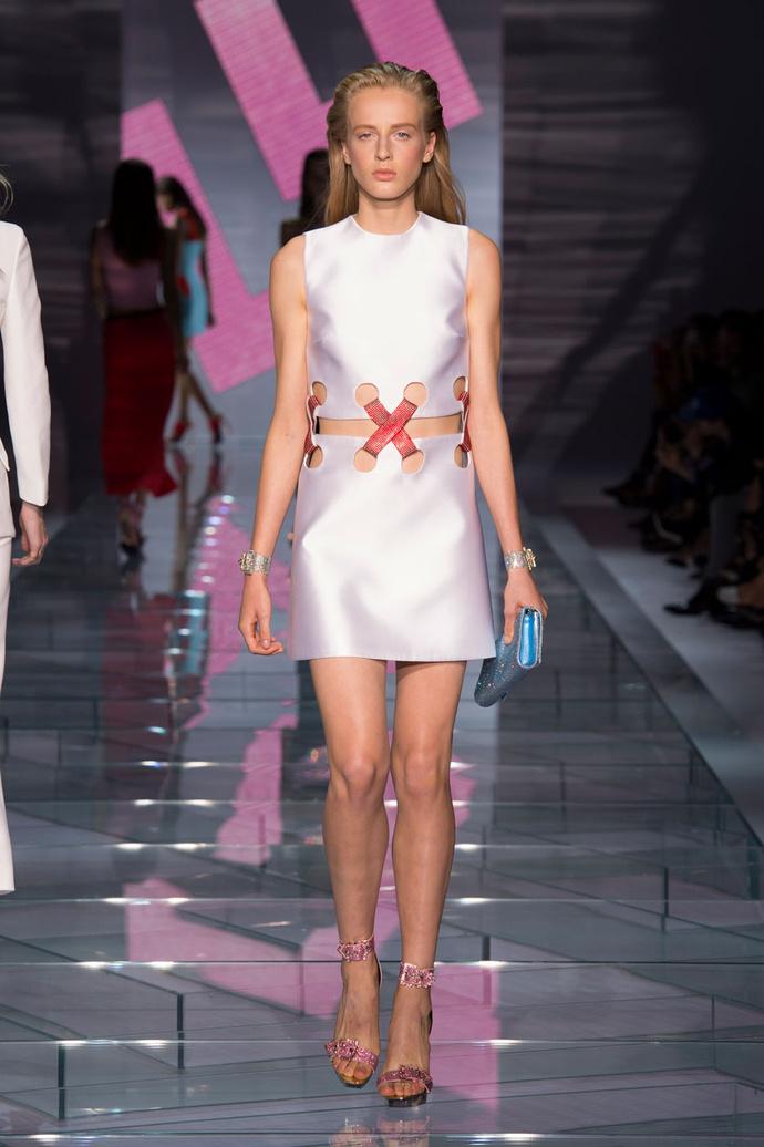 Versace платья на выпускной 2015 2