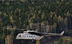 В Чечне обстрелян военный вертолет Ми-8