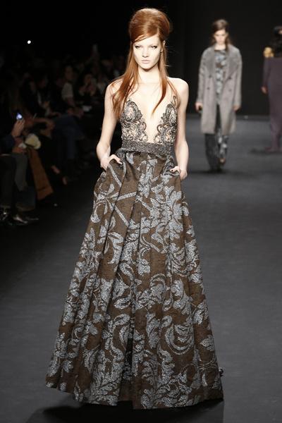 Самые роскошные вечерние платья Недели моды в Нью-Йорке | галерея [1] фото [6]
