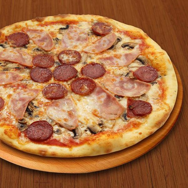 Пицца из «Сушман и Пиццман»
