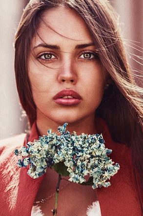 Александра Тарабыкина, тюменская модель