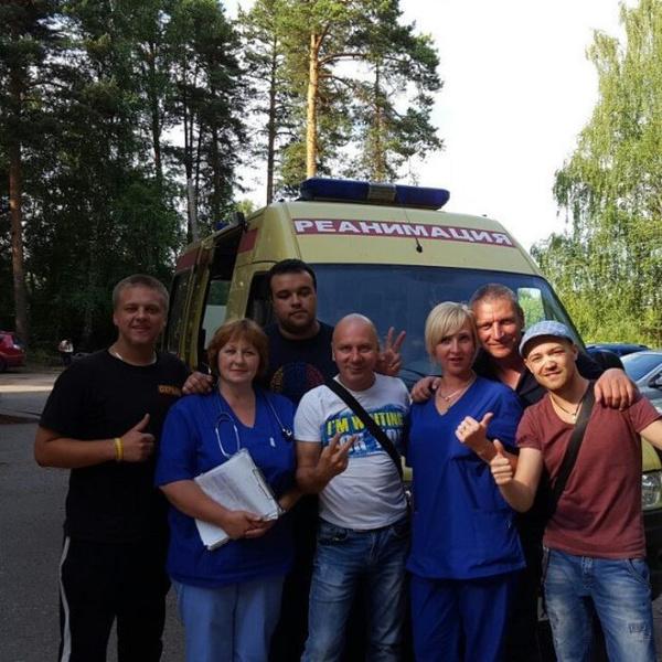 Солист группы Фактор-2 попал в аварию