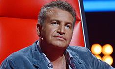 Агутин пожаловался, что кресло Градского в «Голосе» ему велико