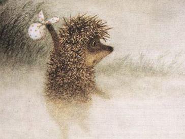 Кадр из мультфильма «Ежик в тумане»