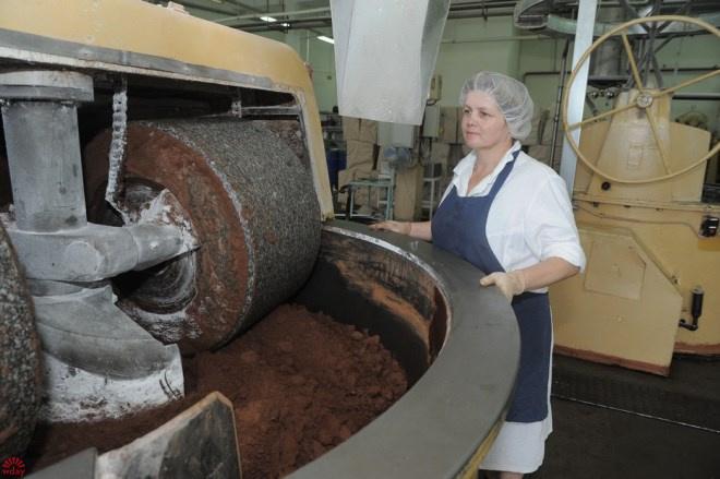 Изготовление шоколадных конфет
