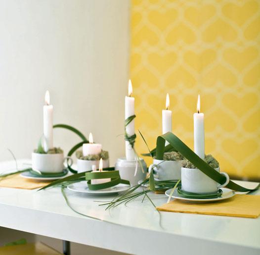 Сервировка стола в домашних условиях своими руками