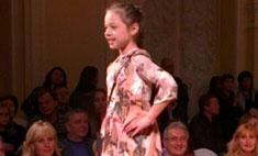 Дочь Волочковой стала звездой модного показа