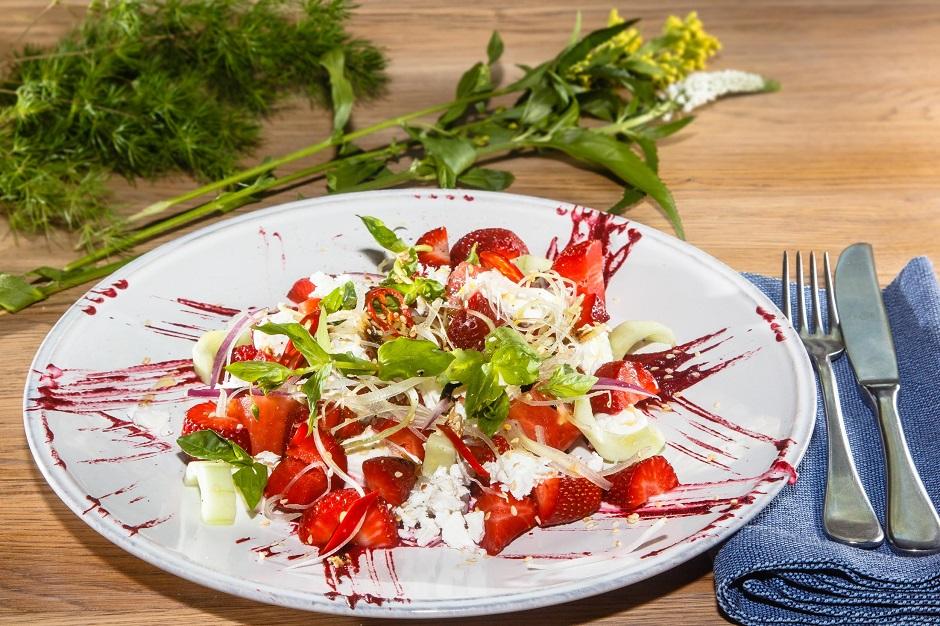 Фото салатов от шеф повара