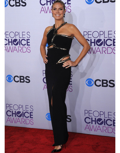 Хайди Клум (Heidi Klum) на People's Choice Awards 2013