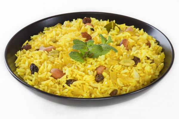 Пожарить рис на сковороде